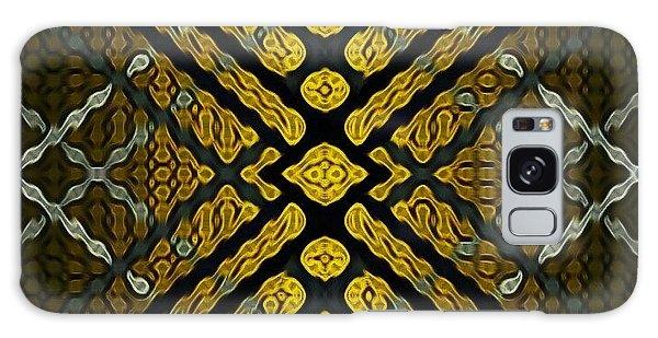 Galaxy Case - Tiger Eye by Lisa Marie Towne