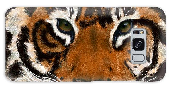 Tiger Eyes Galaxy Case