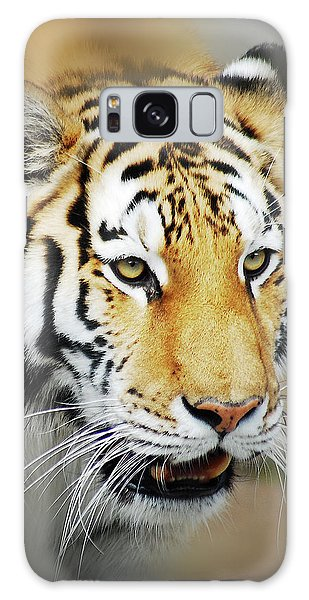 Tiger Eyes Galaxy Case by Michael Peychich