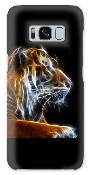 Tiger Fractal 2 Galaxy Case