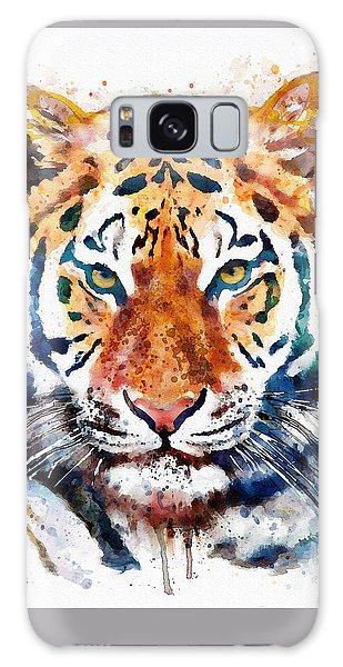 Tiger Head Watercolor Galaxy Case