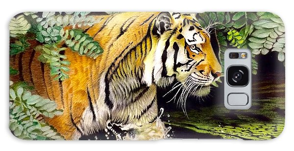 David Hoque Galaxy Case - Tiger In The Sunderban Delta by David Hoque
