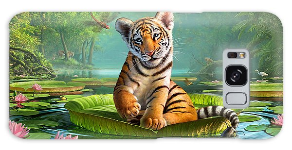 Reflections Galaxy Case - Tiger Lily by Jerry LoFaro