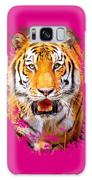 Tiger On The Hunt Galaxy Case
