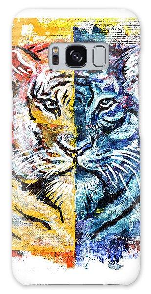 Tiger, Original Acrylic Painting Galaxy Case