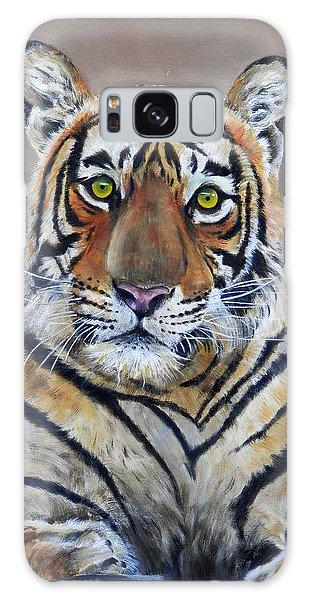 Tiger Portrait Galaxy Case
