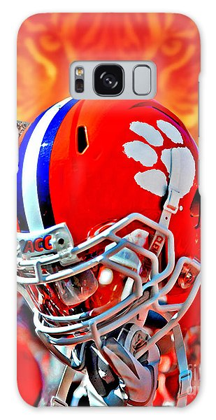 Clemson Galaxy Case - Tiger Pride Iphone Galaxy Cover by Jeff McJunkin
