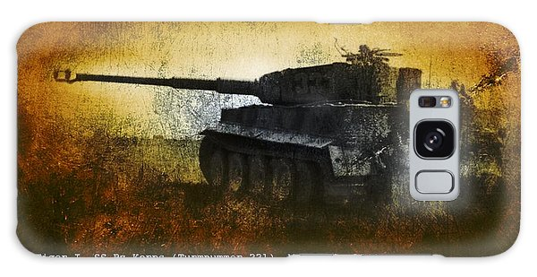 Tiger Tank Galaxy Case by John Wills
