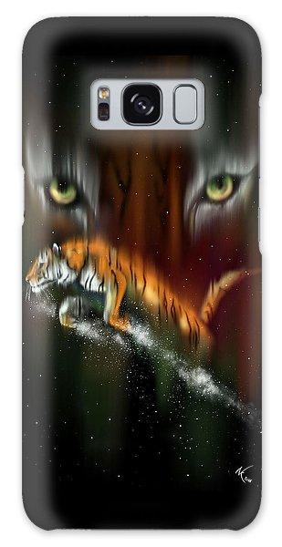 Tiger, Tiger Burning Bright Galaxy Case