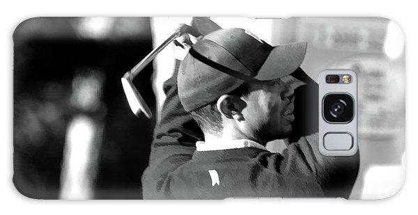 Tiger Woods Blk Wht  Galaxy Case