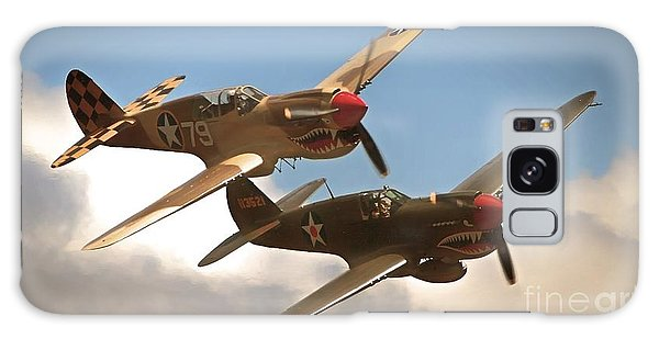 Tigers On The Prowl P-40 Warhawks Galaxy Case