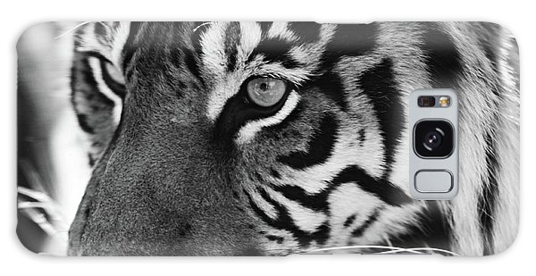 Tigress In Black And White Galaxy Case