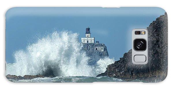 Tillamook Rock Light House, Oregon - Terrible Tilly Galaxy Case