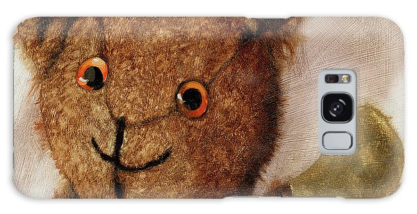 Tillie - Vintage Bear Painting Galaxy Case