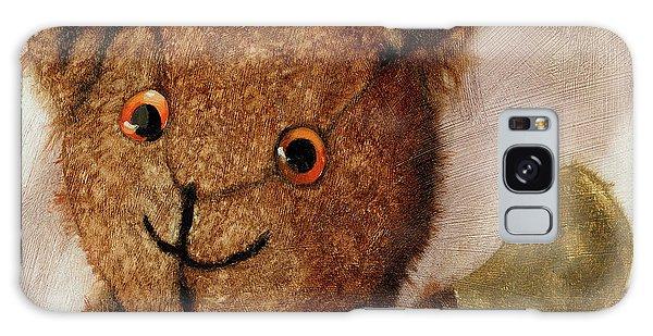 Tillie - Vintage Bear Painting Galaxy Case
