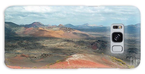 Timanfaya Panorama Galaxy Case by Delphimages Photo Creations