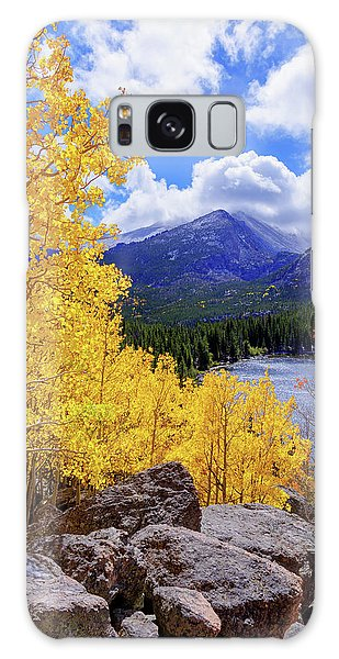 Scenery Galaxy Case - Time by Chad Dutson