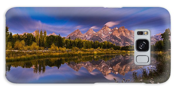 Time Stops Over Tetons Galaxy Case