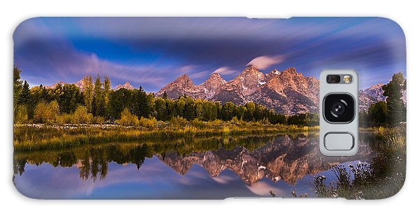 Teton Galaxy Case - Time Stops Over Tetons by Edgars Erglis