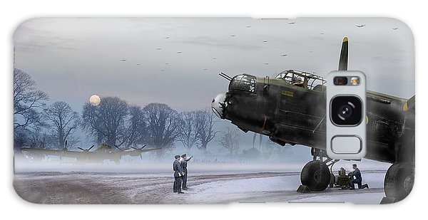 Time To Go - Lancasters On Dispersal Galaxy Case
