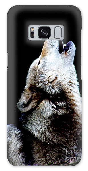 Time To Howl Galaxy Case