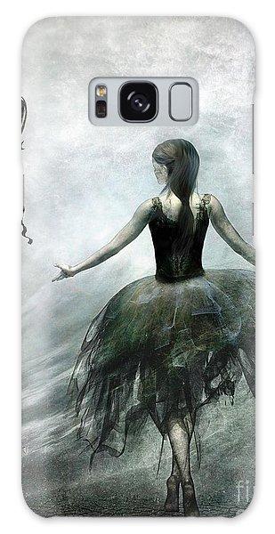 Ballerina Galaxy Case - Time To Let Go by Jacky Gerritsen