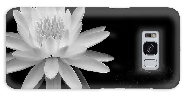 Black And White -timeless Lily Galaxy Case