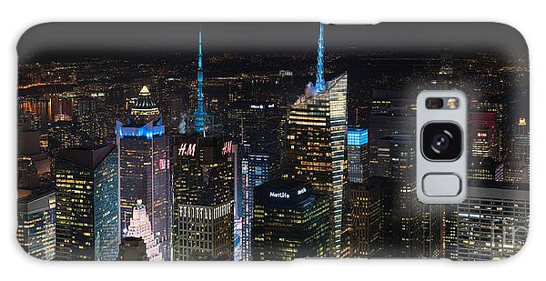 The Empire Galaxy Case - Times Square At Night From The Empire State Building by Mike Reid