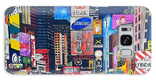Times Square Galaxy Case by Autumn Leaves Art