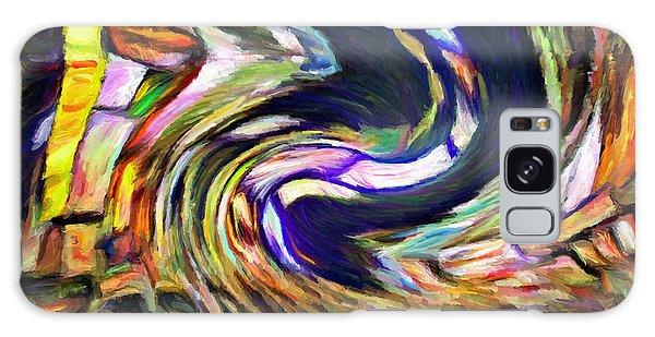 Times Square Swirl Galaxy Case