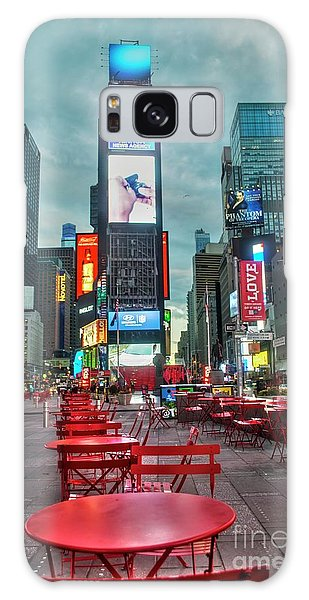 Times Square Tables Galaxy Case by Timothy Lowry