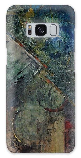 Timethief Galaxy Case by Helen Harris
