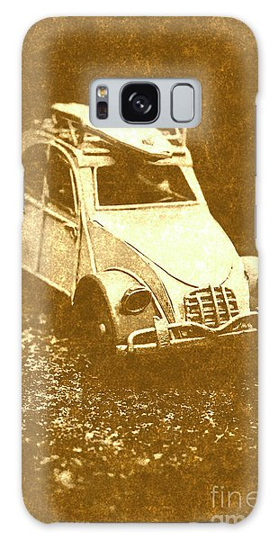 Vintage Cars Galaxy Case - Tin Surf Adventure by Jorgo Photography - Wall Art Gallery