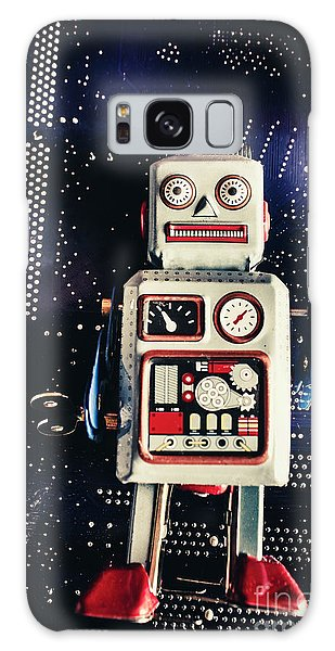 1950s Galaxy Case - Tin Toy Robots by Jorgo Photography - Wall Art Gallery