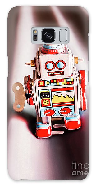 Metal Galaxy Case - Tin Toys From 1980 by Jorgo Photography - Wall Art Gallery