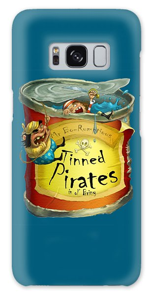 Tinned Pirates Galaxy Case by Andy Catling
