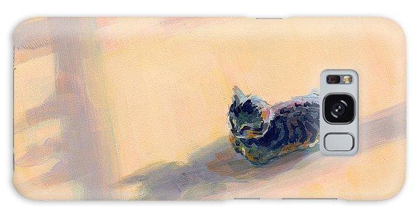 Tabby Galaxy Case - Tiny Kitten Big Dreams by Kimberly Santini