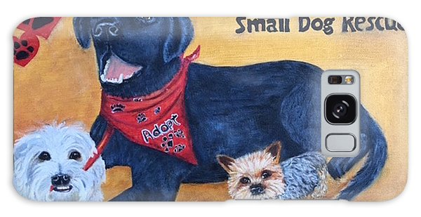 Tiny Paws Small Dog Rescue Galaxy Case by Sharon Schultz
