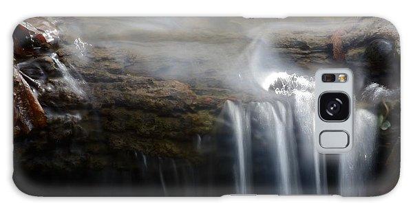 Tiny Waterfall Galaxy Case
