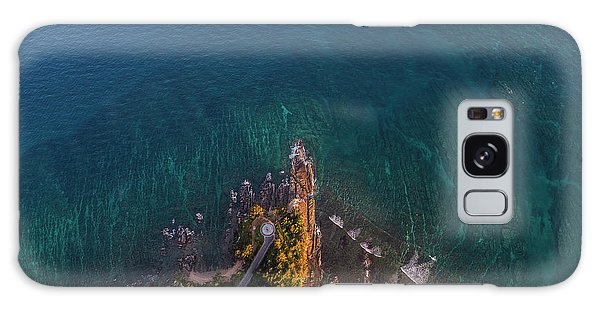 Galaxy Case featuring the photograph Tip Of Borneo View Point From Above, Malaysia by Pradeep Raja PRINTS