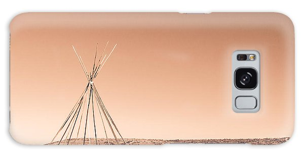 Galaxy Case featuring the photograph Tipi by SR Green