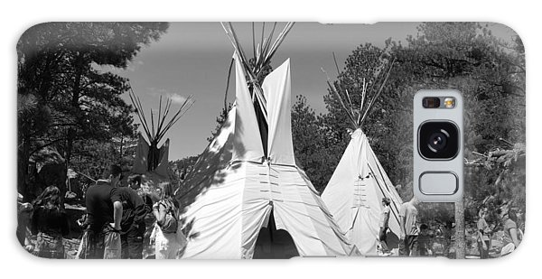 Tipis In Black Hills Galaxy Case