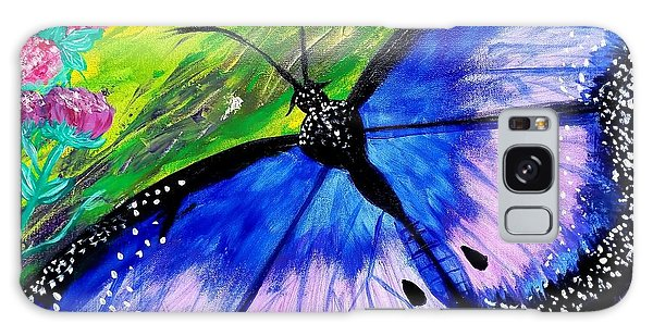 Titanium Butterfly Galaxy Case