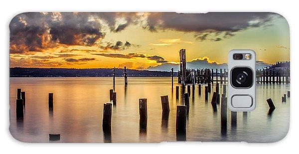 Titlow Beach Sunset Galaxy Case