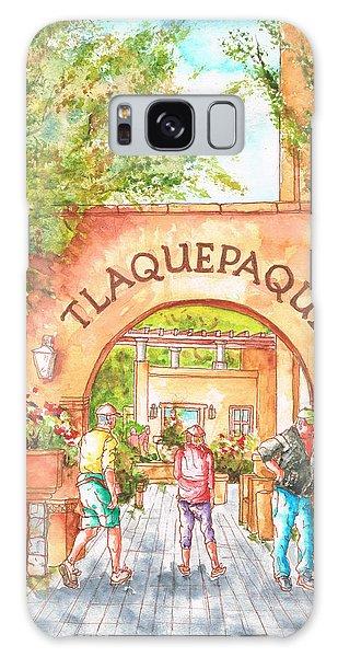 Tlaquepaque Gallery In Sedona, Arizona Galaxy Case