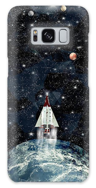Planets Galaxy Case - To Boldly Go by Bleu Bri
