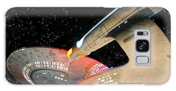 To Boldly Go Galaxy Case