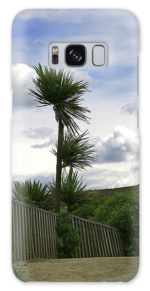 Galaxy Case featuring the photograph To Kouka Cabbage Tree by Nareeta Martin