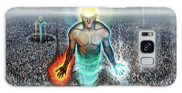 To Rise Above The Masses Galaxy Case by Tony Koehl