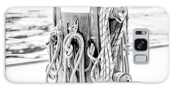 To Sail Or Knot Galaxy Case by Greg Fortier
